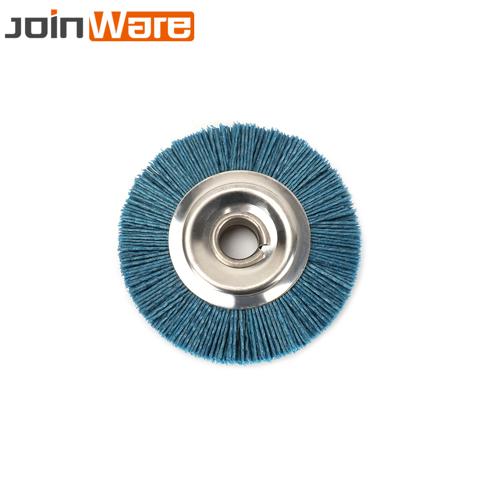 1 pcs 120*100*19mm Abrasives Wire DuPont Drum Wheel Brush for Wooden ...