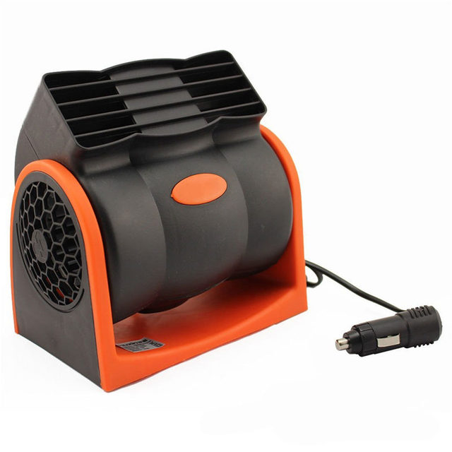 Portable Car Fan Car Air Cooler Fan Dc 24v 7w Auto Vehicle