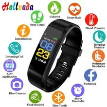 Смарт-браслет для мужчин и женщин, спортивные Смарт-часы, фитнес-трекер, пульсометр, кровяное давление, смарт-браслет для ios android
