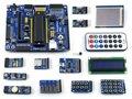 Tarjeta de Desarrollo PIC PIC16F877A PIC16F877A-I/P 8-bit RISC PIC Placa de Desarrollo + 14 Módulo Accesorio Kits = Open16F877A Paquete B
