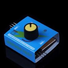 50 pçs/lote Novo Multi RC ESC Servo Tester 3CH ECS Consistência Velocidade Controler Digital Canais de Energia