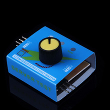 50pcs/lot New Multi RC Digital ESC Servo Tester 3CH ECS Consistency Speed Controler Power Channels