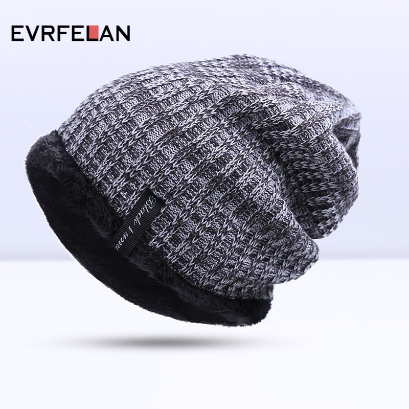 2017 Hot Sales Fashion Hat Winter Warm Hat For Man Skullies s