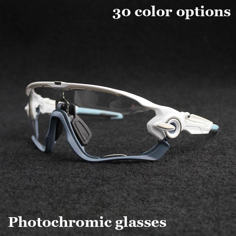 Marca nueva llegada ciclismo gafas de sol bicicleta de montaña gafas fotocromáticos gafas de ciclismo gafas de sol de bicicletas gafas de ciclismo