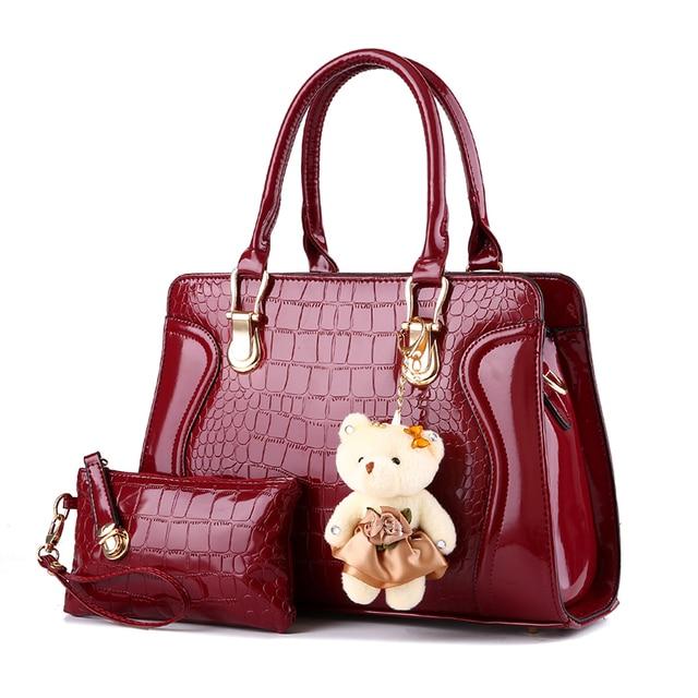 2eff6e96452e 2017 New fashion brand luxury Lady Bag Cheap Fashion Hangbag Women  Messenger Bags PU Leather Black Handbags Free Shipping