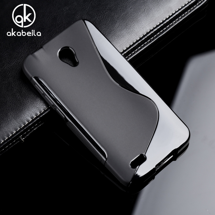 AKABEILA Phone Case Cover For <font><b>Alcatel</b></font> <font><b>OneTouch</b></font> <font><b>Go</b></font> <font><b>Play</b></font> <font><b>7048X</b></font> Conquest 7046 7048 7046T Soft Silicon Phone Bag Case Cover Housing image