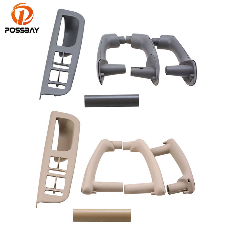 POSSBAY Car Interior Door Pull Handle Window Control Panel Car Cover for VW Golf IV 4 GTI/R32/Variant Or Bora 1J Sedan