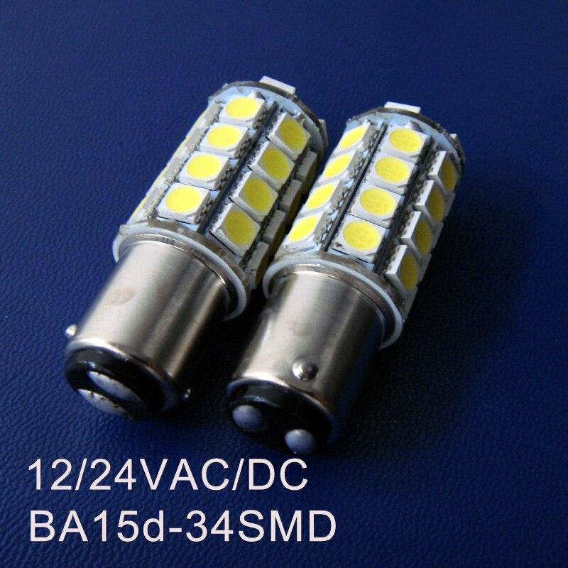 High quality 12/24VAC/DC BA15d Yacht led lights,ship led 1142 lamps,Boat led bulbs,BA15d Led Signal Lamps free shipping 5pcs/lot