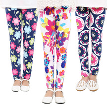 купить Leggings For Girls Print Flower Kids Girls Pants Children's Leggings Star Print Dot Girl Leggings Pants по цене 311.33 рублей