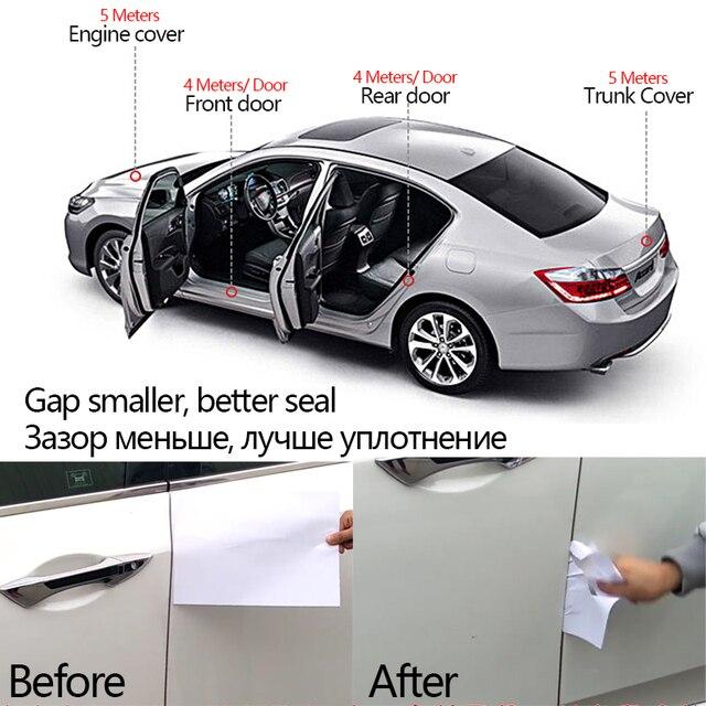 Universal Car Door Sound Proof Insulation Seal