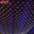 Free DHL100Pcs 3m*2m Net Lights 200LED Net Mesh Decorative Fairy Lights Twinkle Lighting Christmas Wedding Party EU/US 110V/220V