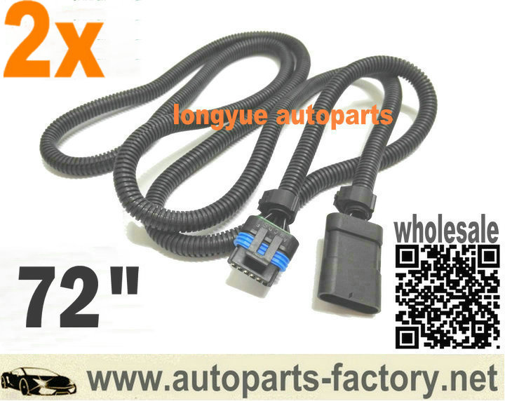 diesel wiring harness reviews online shopping diesel wiring longyue 2pcs universal 6 5 6 5l turbo diesel fsd pmd relocation extension harness cable for cooler plate 1 8m wire