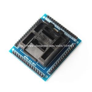 Image 3 - Top quality U Type QFP64 TQFP64 LQFP64 socket adapter IC test socket programmer qfp64 socket tqfp64 lqfp64