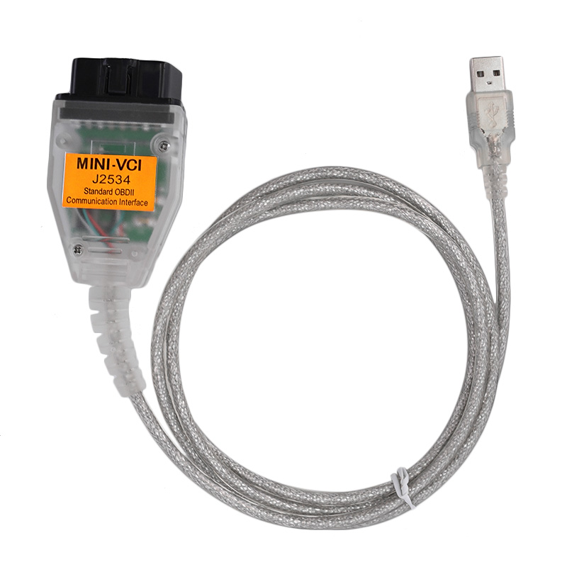 Latest V13.00.022 MINI VCI Interface FOR TOYOTA TIS Techstream MINI-VCI J2534 OBD2 Diagnostic Cable