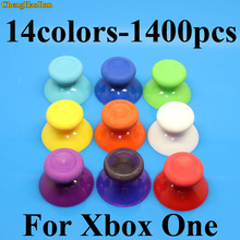 ChengHaoRan 1400pcs Analog Joystick Cap for XBox One Analogue Stick controller Mushroom Head for XBox One Rocker Grip Cover focusrite isa one analogue