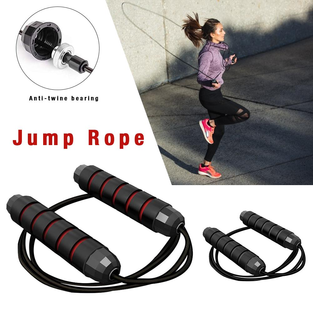 Adjustable Jump Rope Cardio Skipping Rope All Heights And Skill Levels For Aerobic Exercise Speed Training Endurance Training