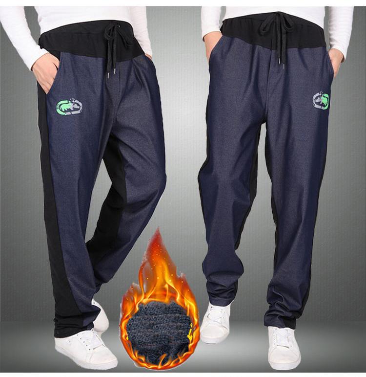 Warm winter pants men Joggers pants Hip Hop pants men clothes 18 Streetwear men's trousers large size XXXL 4XL 5XL 6XL 7XL 8XL 14