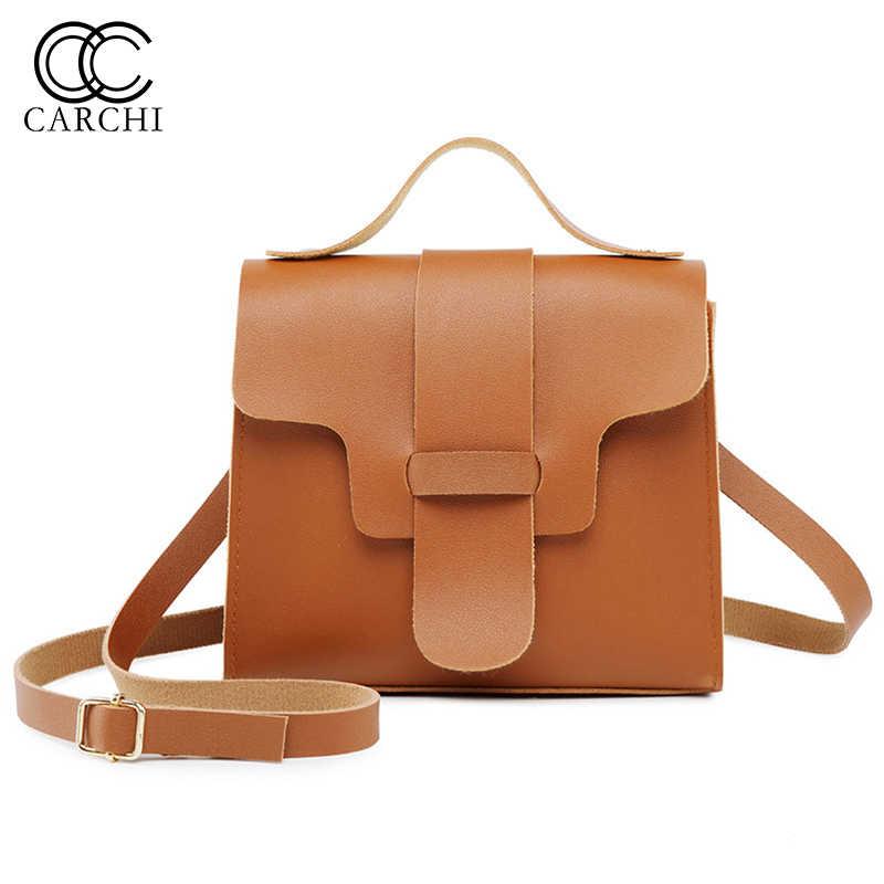 6197af32dd PU Leather Women Shoulder Bag Fashion Flip Cover Handbags Girls Small Messenger  Bags Famous Brand Crossbody