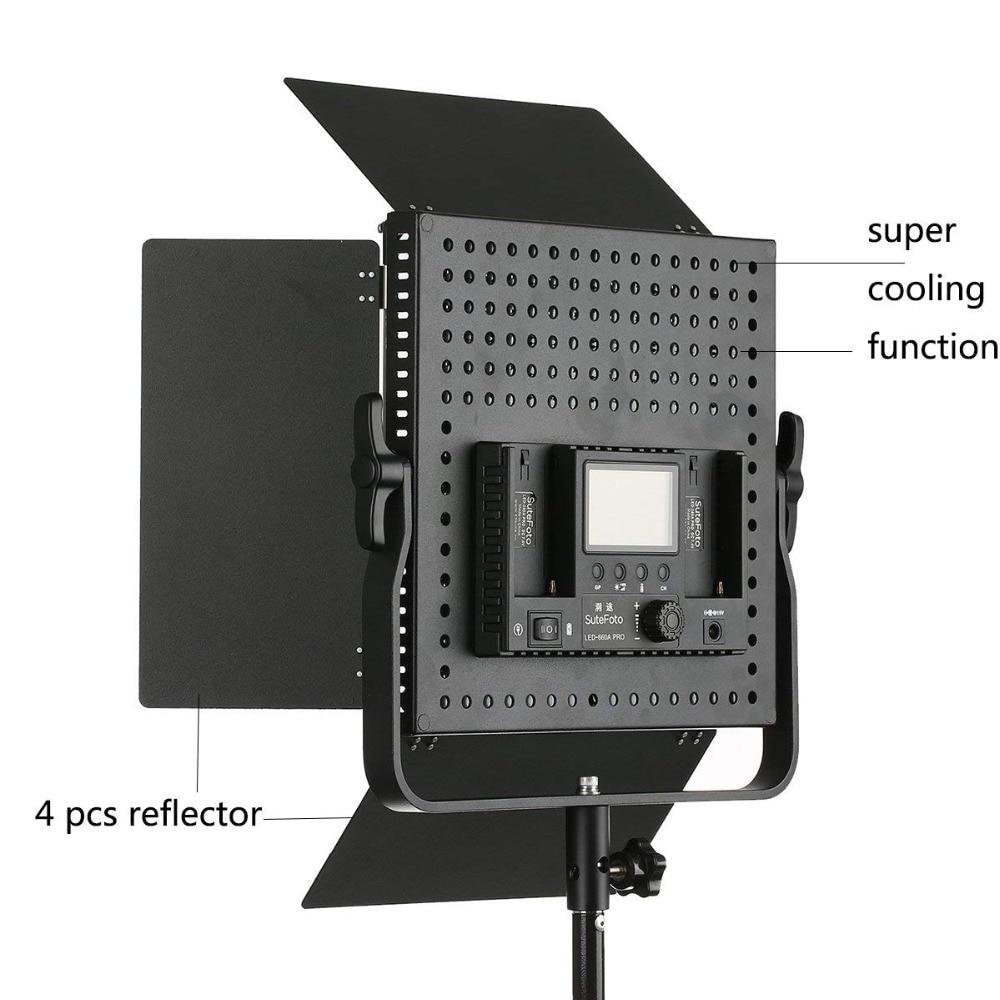 Pixel K80 Bezdrátové LED Video Svítidlo 5600K s vestavěným 2.4G - Videokamery a fotoaparáty - Fotografie 4