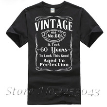 Vintage 60th Birthday T Shirt