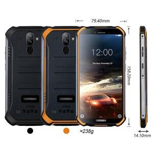 "Image 5 - 3GB + 32GB DOOGEE S40 5.5 ""HD 4G شبكة هاتف محمول وعر IP68 مقاوم للماء 4650mAh 8MP MT6739 أندرويد 9.0 فطيرة الهاتف الذكي"