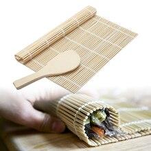 Sushi-Tool Rolling-Mat Rice-Roller Hand-Maker Bamboo Kitchen Japanese DIY 24x24cm