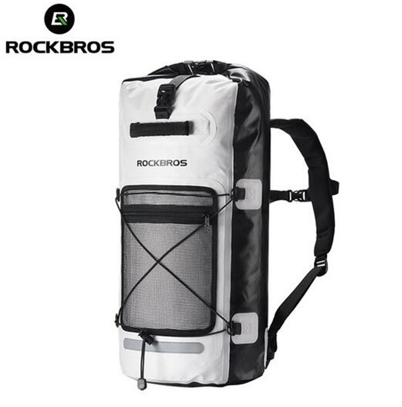 ROCKBROS Cycling Bike Bicycle Bag Rainproof Case Pannier Big Capacity Outdoor Sports Hiking Riding Bike Bicycle