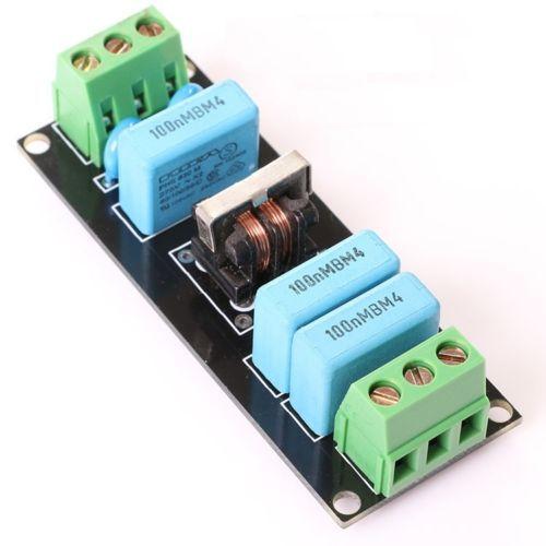 Prise de carte de filtre de puissance EMI 4A, pour amplificateur préampli, casque DAC, nouveau