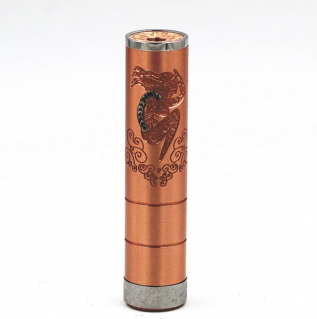 Emma Mech Mod Mechanical 18650 Battery Body Vaporizer Vapor Vape Mod For RDA RBA