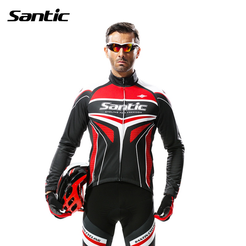 Santic Men Cycling Sets MTB Downhill Bicycle Suit Windproof Cycling Jersey Sport Clothes Gel Pad Cycling Pants Bike Clothing santic mtb cycling pants bicycle bike downhill pants women trainers cycling tight pants l5c05058p
