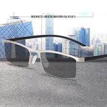 TR90 Reading Glasses  Computer Presbyopic Eyewear Multifocal Progressive Eyeglasses Anti Blue Light Men
