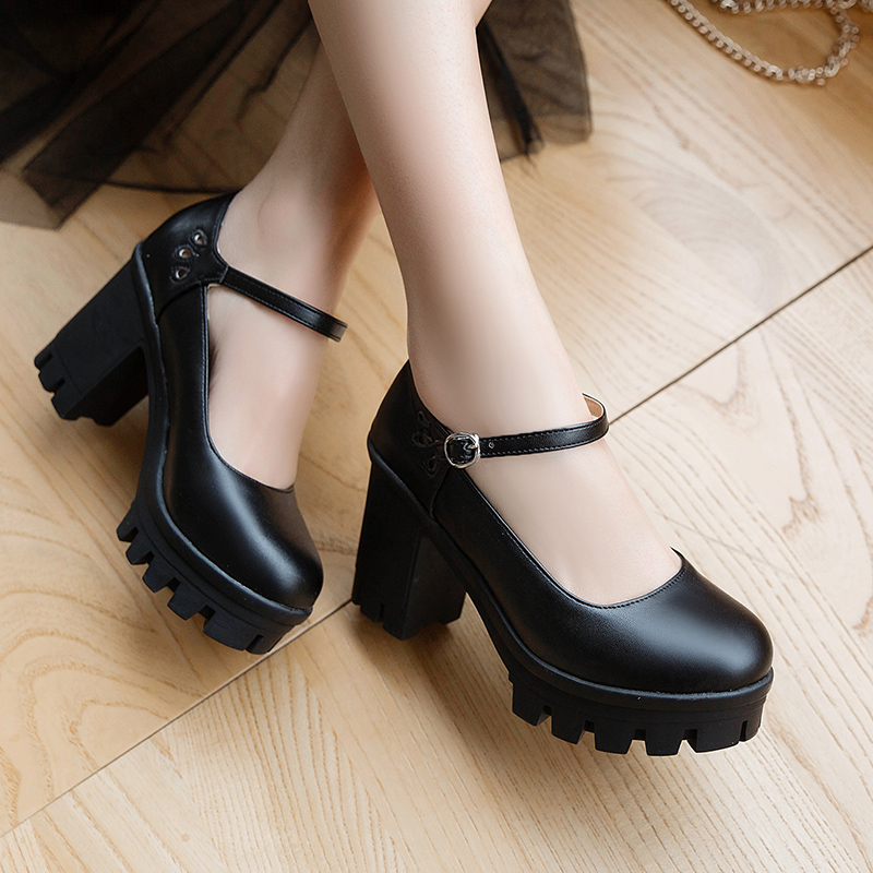 SARAIRIS New Arrivals big size 32 ins style chic platform woman shoes spring chunky high heels womens shoes pumpsSARAIRIS New Arrivals big size 32 ins style chic platform woman shoes spring chunky high heels womens shoes pumps