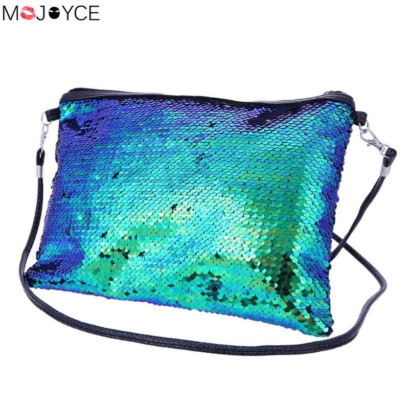 Detail Feedback Questions about Glitter Gorgeous Sequins Shoulder Bags Women  Clutch Ladies Travel Portable Crossbody Messenger Bag Bolsa Feminina on ... 56a9050e0bff