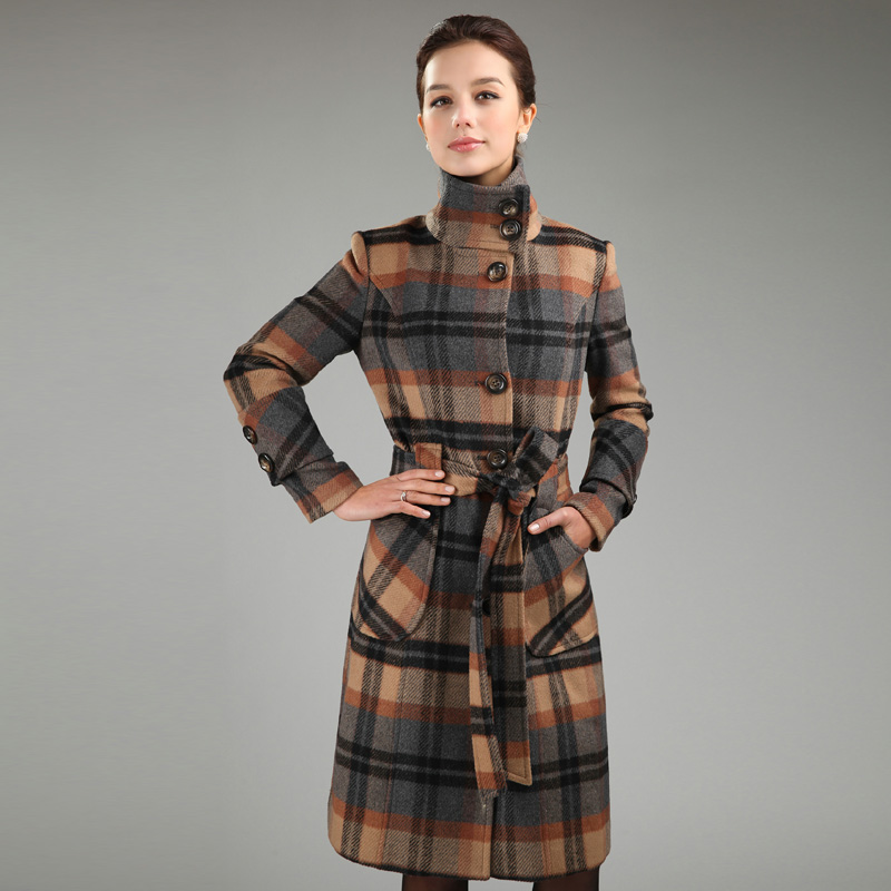Compare Prices on Plaid Sleeve Coat- Online Shopping/Buy Low Price ...
