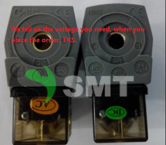 Free Shipping 10PCS Electric DIN solenoid Coils for ASCO pulse solenoid Valve N282C53056N , pulse valve solenoid type free shipping repairing part 3 pin din plug led solenoid valve connector ac 220v