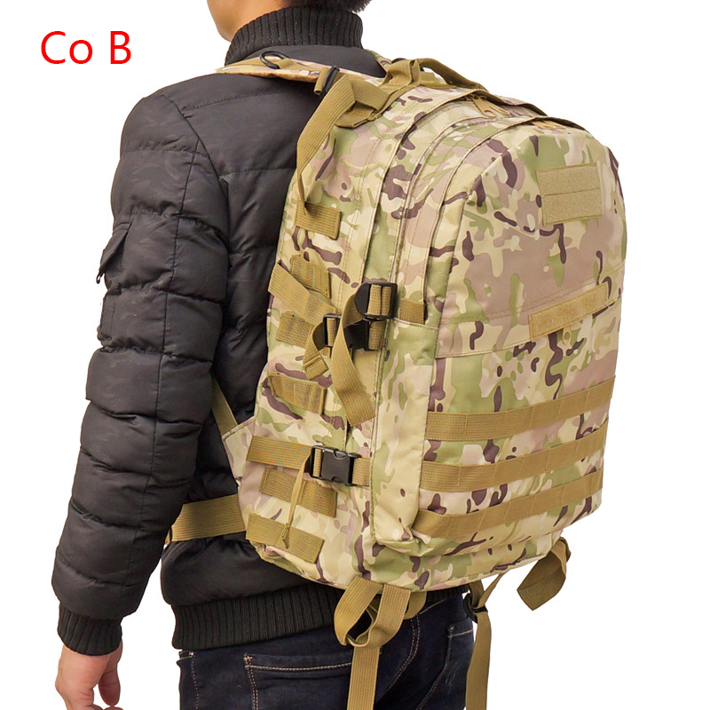 Outdoor Sports Backpack Waterproof Mountaineering Hiking Urban Cycling Campimg Bag Men Camouflage Outdoor Double Shoulder Bag outdoor sports double shoulder bag student bag computer bag waterproof pack free shipping