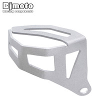 BJMOTO Motorcycle Rear Brake Pump Fluid Tank Reservoir Guard Protector Cover For BMW R1200GS LC R1200GS
