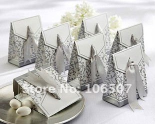 Quality Guarantee,50PCS Favor Gift Box Wedding Supplies-Wholesale and retail