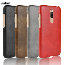 For Meizu M6T Case ShockProof luxury PU