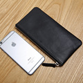 LAN men's leather wallet brand thin purse fashion designer coin purses holders
