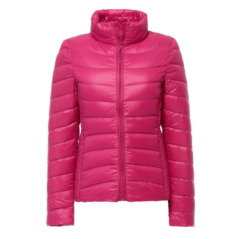 Women Winter Jacket Coat 9 Colors Duck Down Light Warm