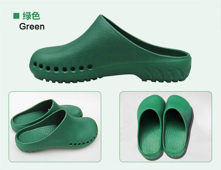 c0aba9bc6 Médicos Enfermeiros Sapatos Anti slip Sapatos de Proteção Da Sala De ...