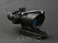 Trijicon ACOG 4x32 Riflescope Hunting Shooting Tactical Green Optical Fiber M7184