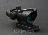 Trijicon ACOG 4x32 Riflescope Hunting Shooting Tactical Green Optical Fiber M7184