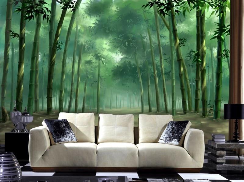 Aliexpresscom Buy Custom 3d photo luxuriant big green tree