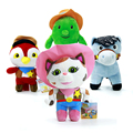 Wholesale 4pcs/lot Movie Sheriff Callie's Wild West Cowboy Callie Cat/Horse/Woodpecker/Cactus Tree Brand Plush Doll Toys