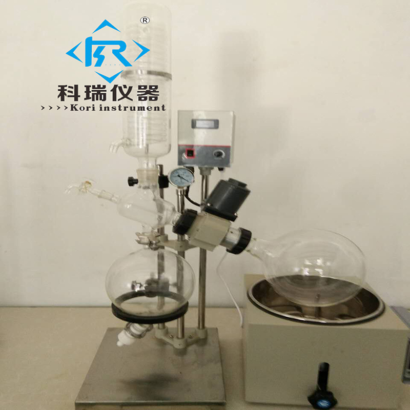 5L Chemical Crystallizer Lab Scale Distillation Equipment Handle Rotary Evaporator network recovery