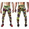 Mens compression pants jogger tights long pants exercise fitness skinny leggings trousers