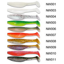 Noeby Soft Bait 6Pcs/7cm/2.8g Or 4Pcs/10cm/9gT-Tail Fishing Lure Silicone Baits Pescaria Leurre Peche Isca Artificias Para Pesca