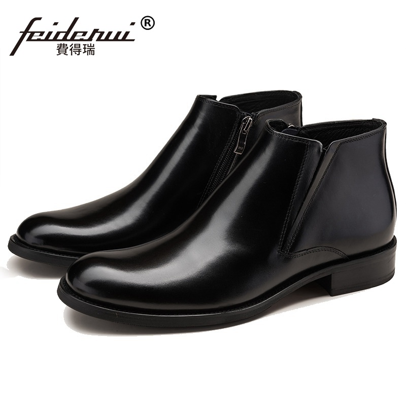 Hot Sales Man Basic Luxury Brand Dress Shoes Designer Genuine Leather Cow Round Toe Men's Martin Motorcycle Ankle Boots HD66 кухонные весы salter 1066 ogdr page 6